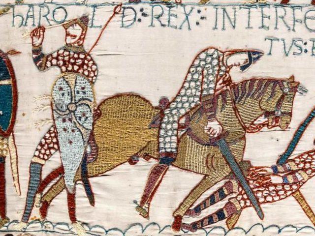 Az angolok vesztettek: a Bayeux-i Faliszőnyeg francia