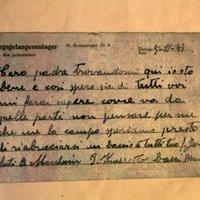 Hetvenkét évet késett egy levél