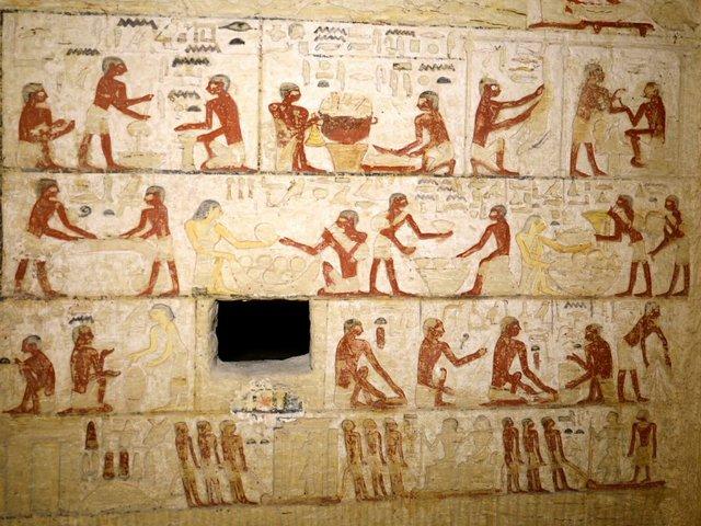 4400 éves egyiptomi sír