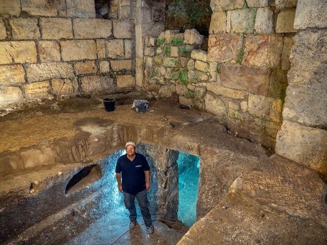 Három titokzatos földalatti szoba a jeruzsálemi Siratófal közelében