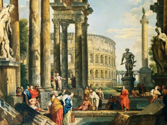 Az antik Róma emigránsok városa volt
