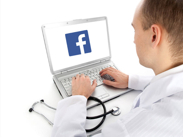 Az orvosok is rátaláltak a közösségi oldalakra