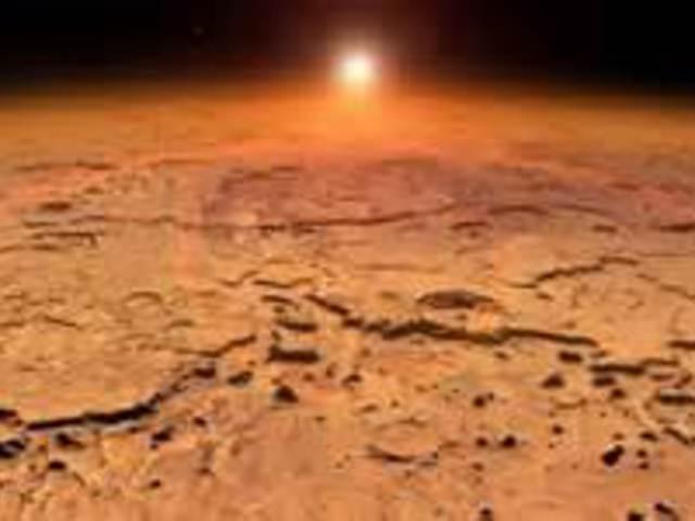 A Marson is volt szökőár