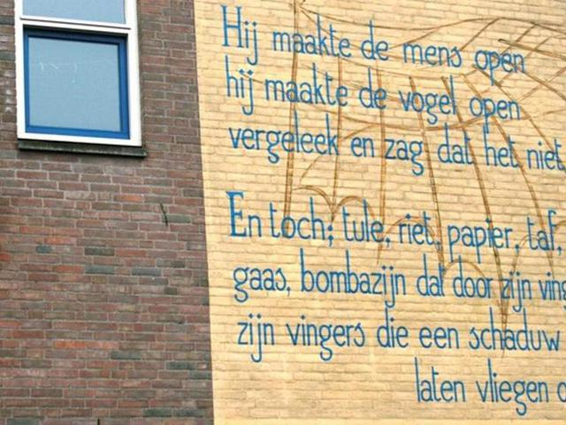 Költészet Leiden falain
