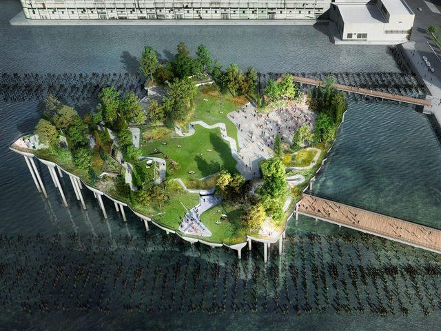 Szigetpark lesz Manhattanben