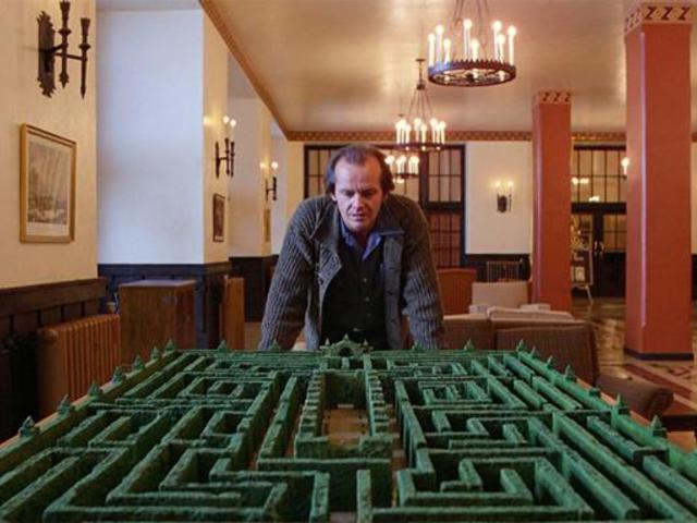 Felépítették a Ragyogás labirintusát