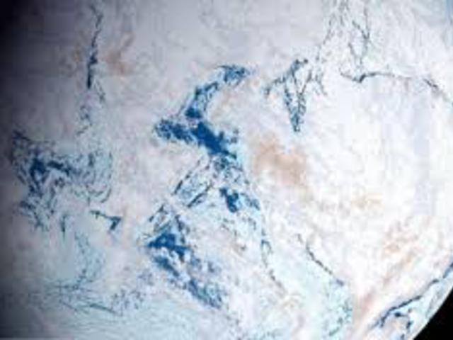 Föld olyan volt, mint egy hatalmas hógolyó  717 millió évvel ezelőtt