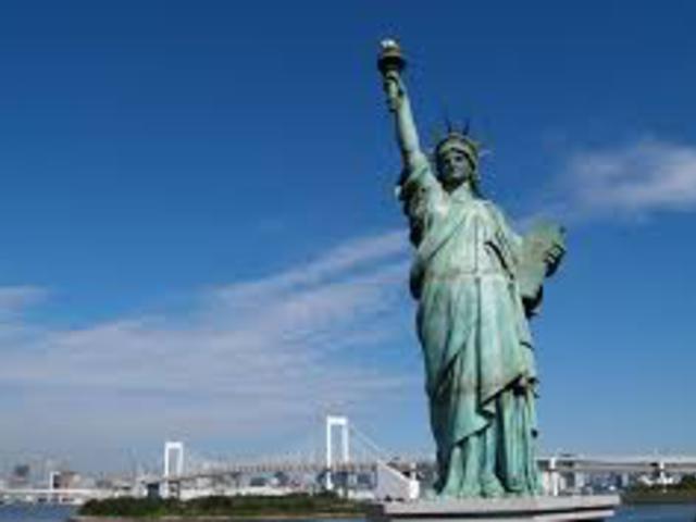 Hogyan készült a New York-i Szabadság-szobor?