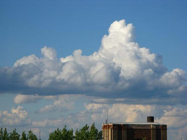 Tavaszi felhők