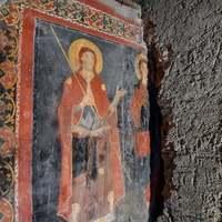 Csodálatos rejtett festményt találtak a római Sant'Alessio dell'Aventino templomban