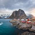 Képeslap a Lofoten-szigetekről