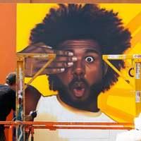 New York-ban visszatér a festett fali reklám