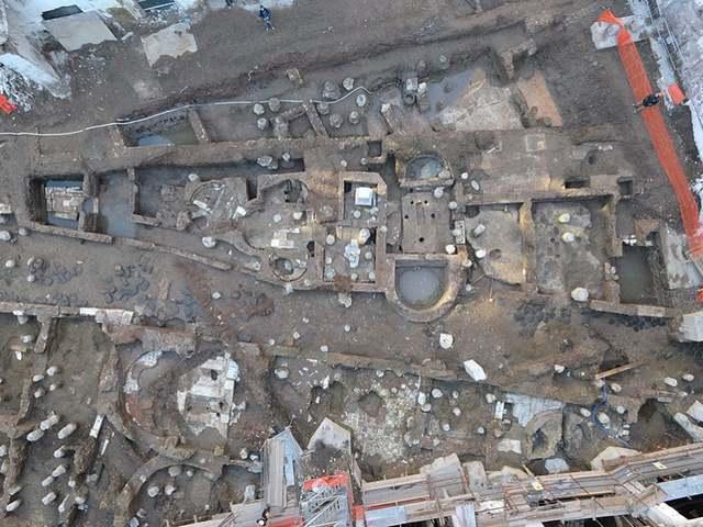 Ókori vízvezetékre bukkantak Róma központjában