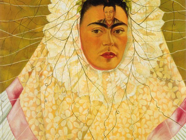 Frida Kahlo és Diego Rivera Bolognában