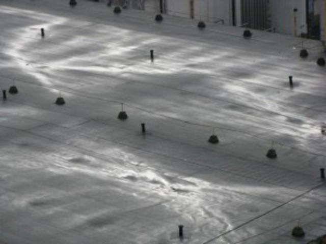 A tető vízfényei