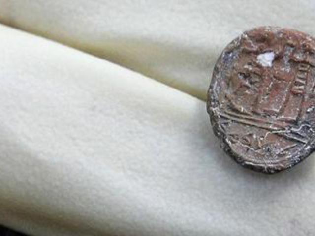 2700 éves pecsét Jeruzsálemből