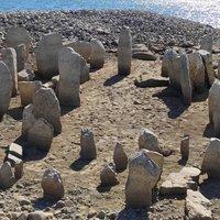 Az aszály láthatóvá tette a spanyol Stonehenge-et