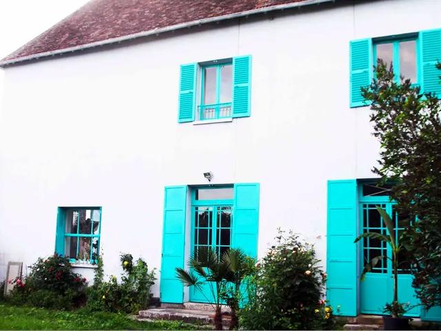 Bérelhető Giverny-ben Claude Monet háza