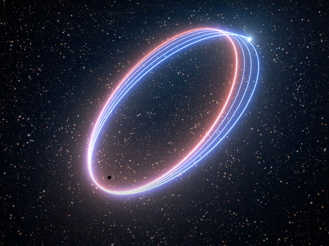 Táncolnak a csillagok a fekete lyuk körül