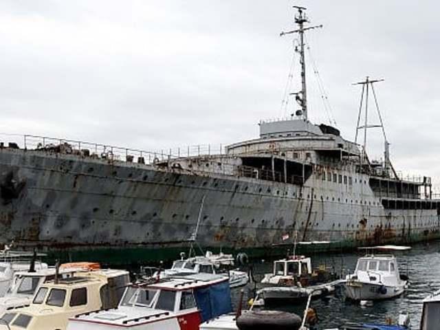 Múzeum lesz Tito jachtja