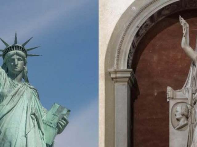 Egy firenzei mű ihlette az amerikai Szabadság-szobrot