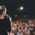 Közönség előtt beszélni nem könnyű