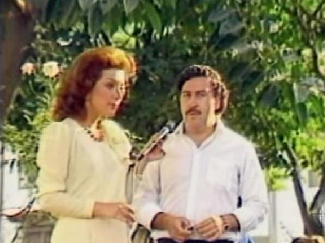 Pablo Escobar sztárszeretője