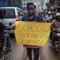 Kampala ifjú klímaaktivistája a Föld jövőjéért  és a fákért harcol