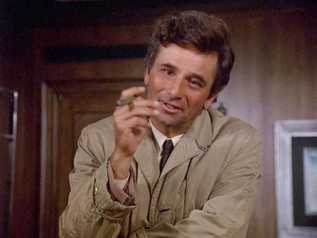 Columbo hadnagy, a toprongyos zseni