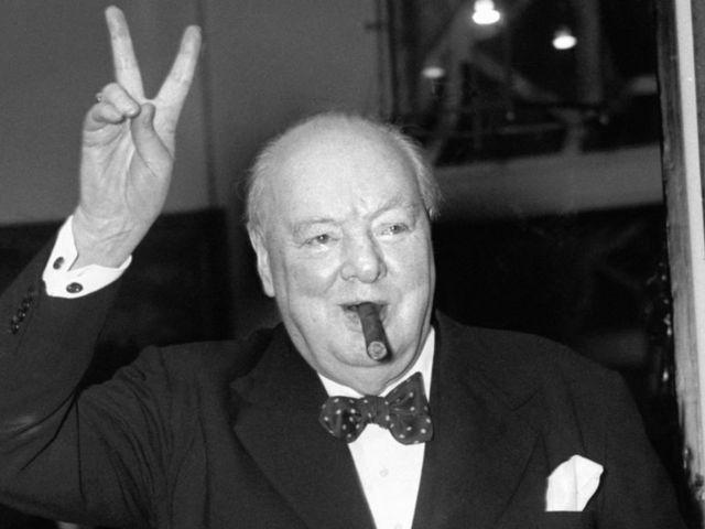 Winston Churchill mindörökké