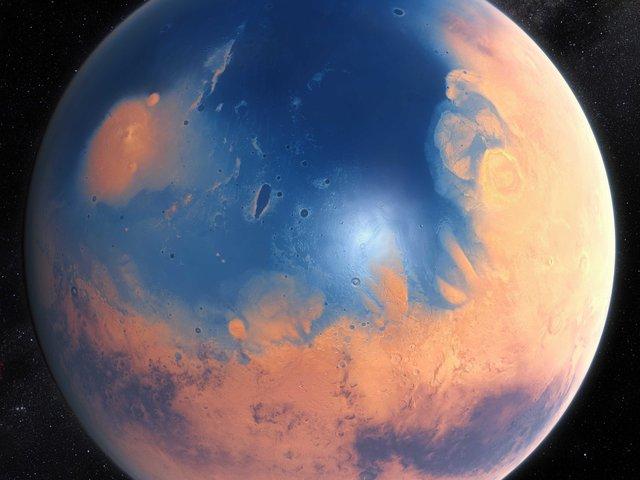 Amikor a Mars kék bolygó volt