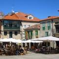 Pontevedra, város autók nélkül