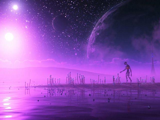 A földön kívüliek lilák is lehetnek