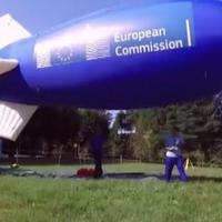Tengerellenőrzés léghajóról