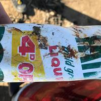 47 éves műanyag palack