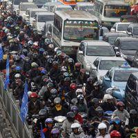 Az indonézek utálnak a legjobban gyalogolni