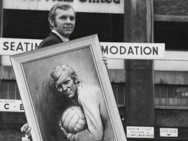Bobby Moore posztumusz sztárolása