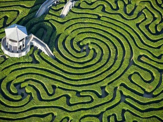 A világ leghosszabb és legbonyolultabb labirintusa