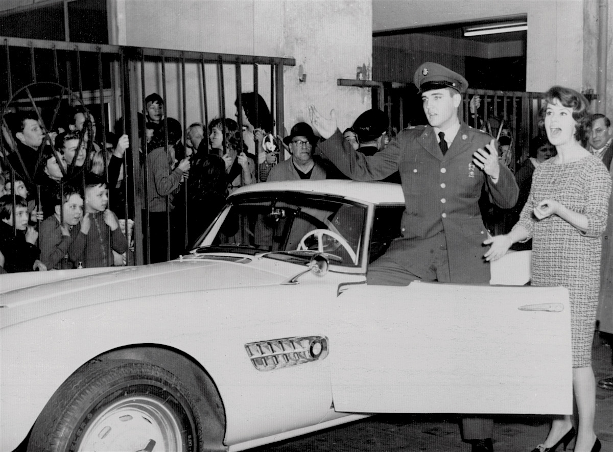 Ismét régi fényében Elvis BMW 507-ese