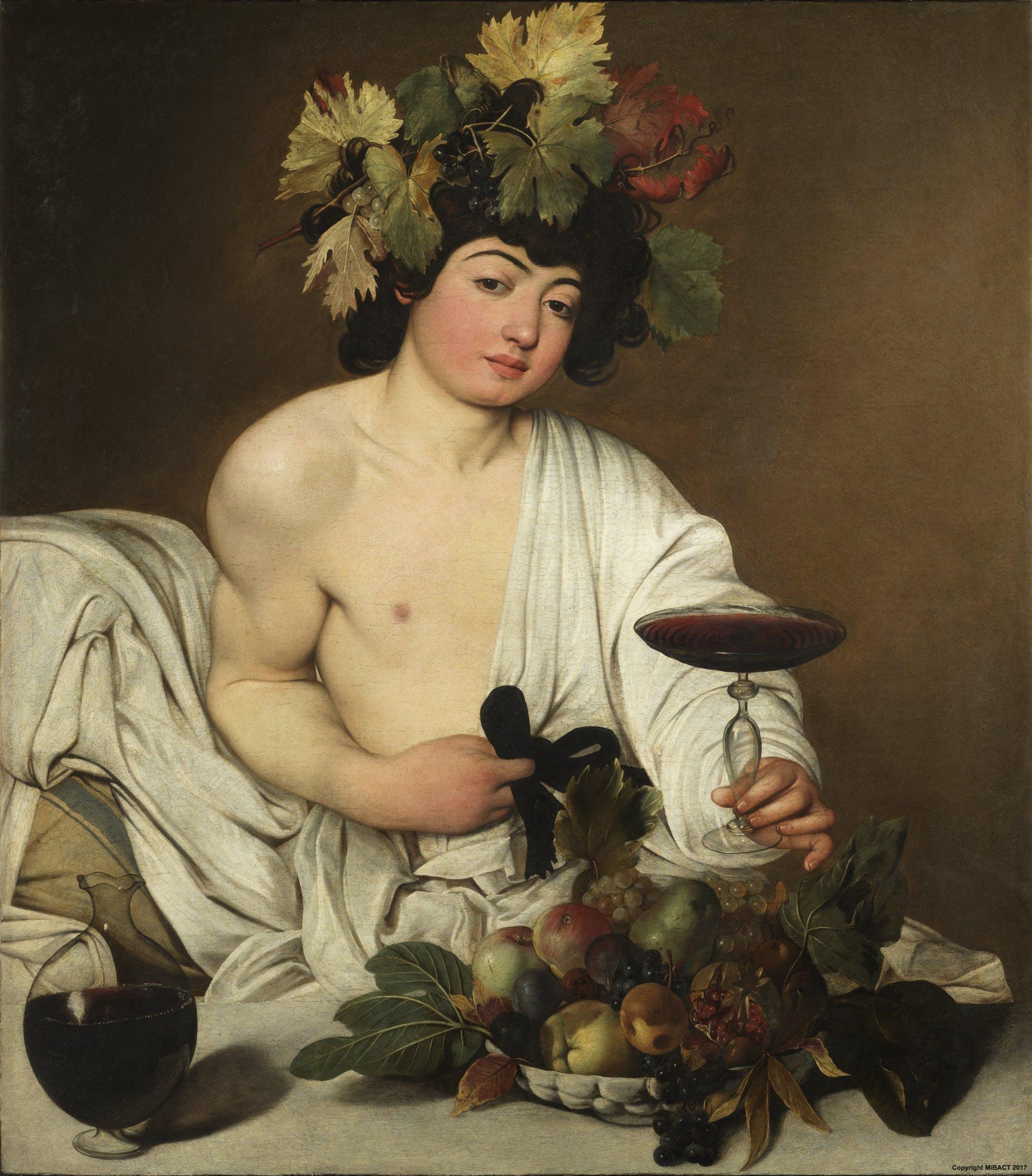 Mit rejtett Caravaggio Bacchus boroskancsójába?