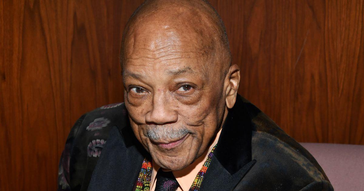 Quincy Jones, a 20.század élő zenelegendája