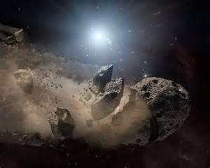Aszteroidok vitték a vizet a Holdra?