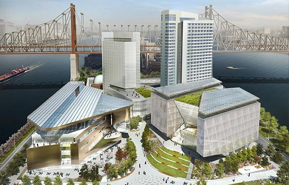 A világ legmagasabb passzív épülete épül New-Yorkban