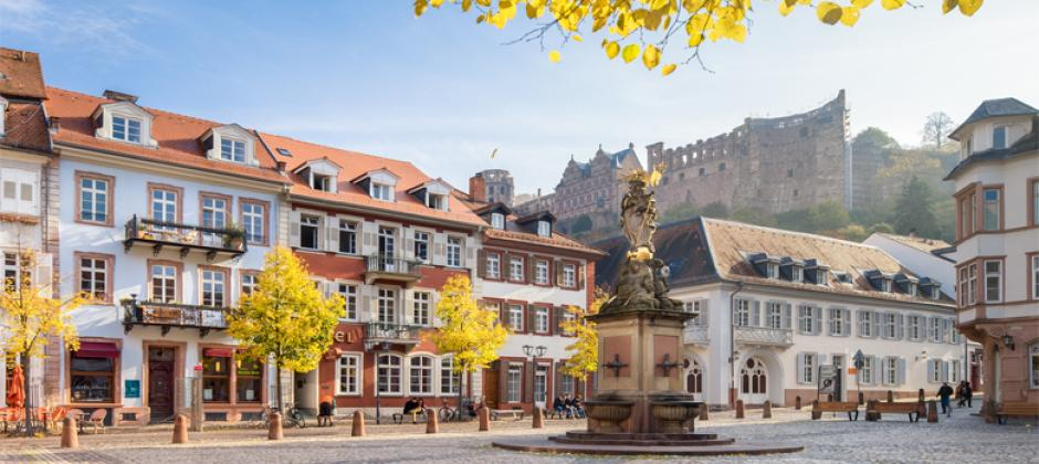 Heidelberg is zöldül