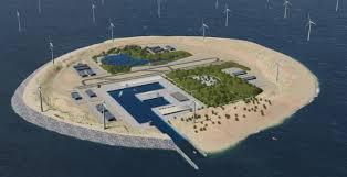 Tiszta energia egy Északi-tengeri mesterséges szigetről