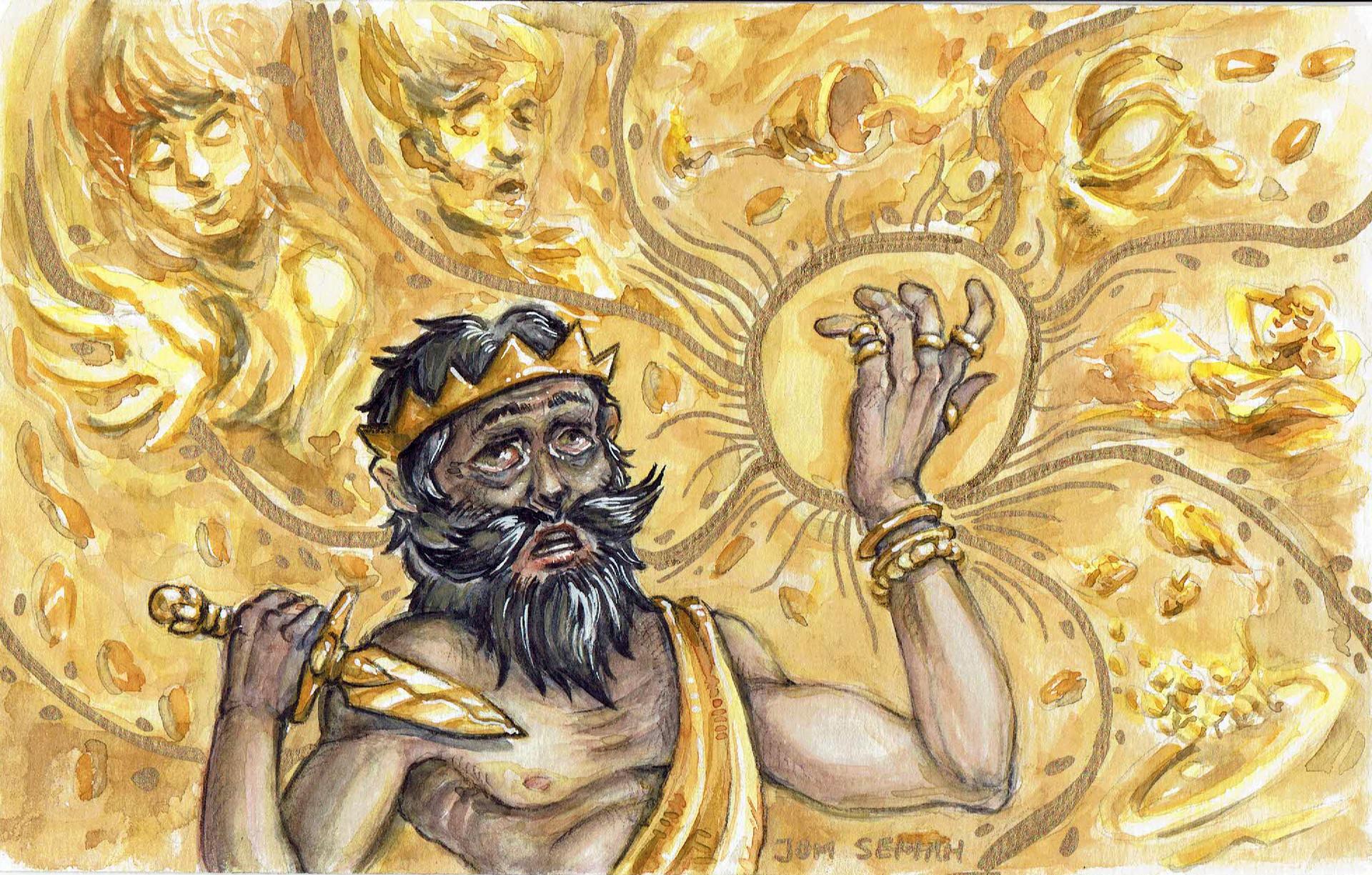 Midász király nyomában