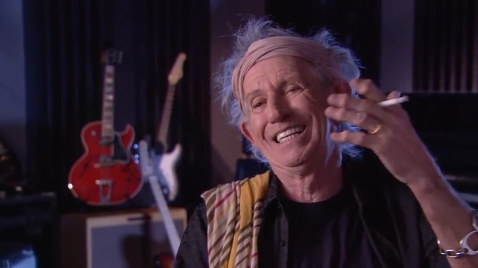 Keith Richards beszél