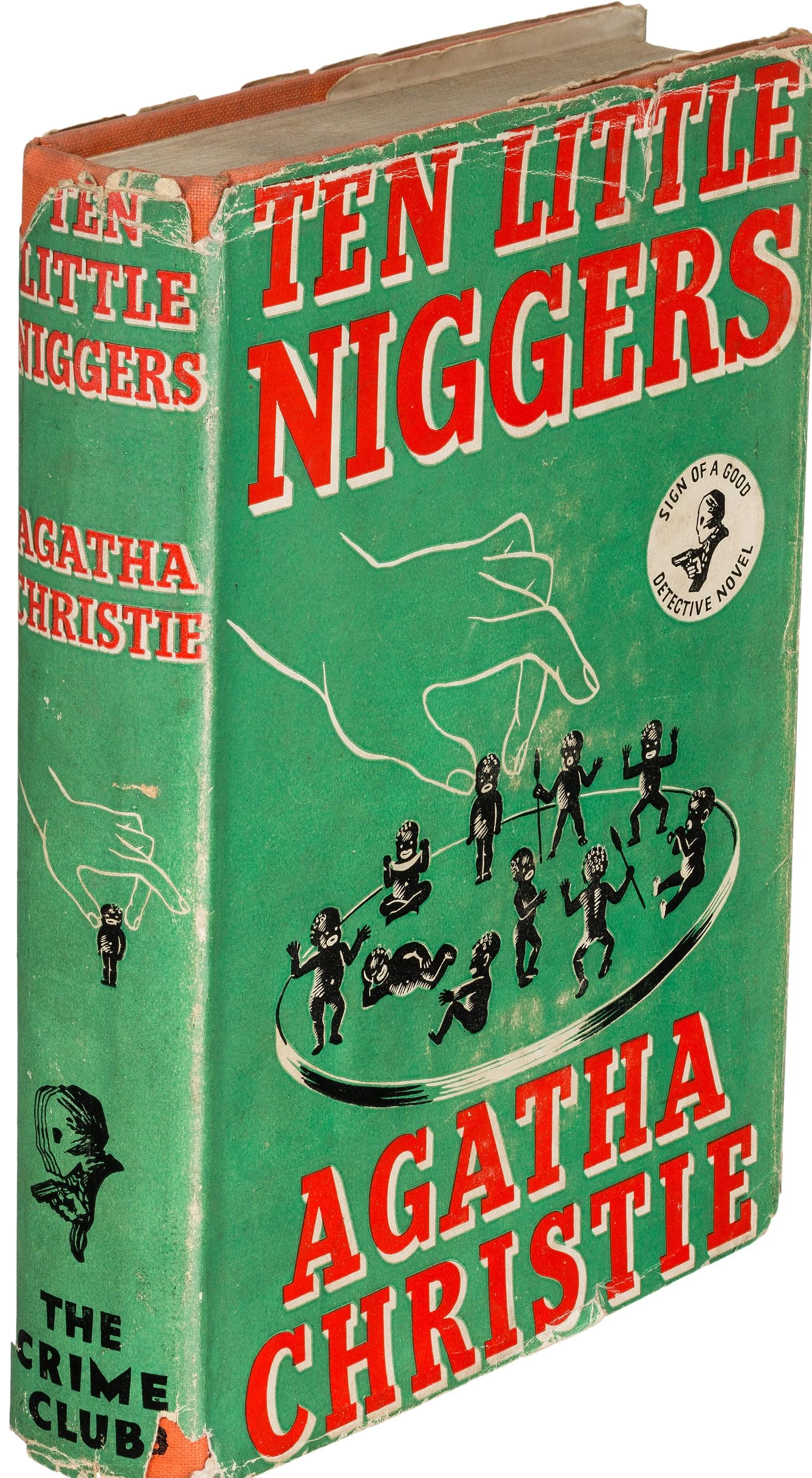 """Agatha Christie és a """"P.C"""": """"Tíz kicsi néger"""" helyett """"Tízen voltak"""""""
