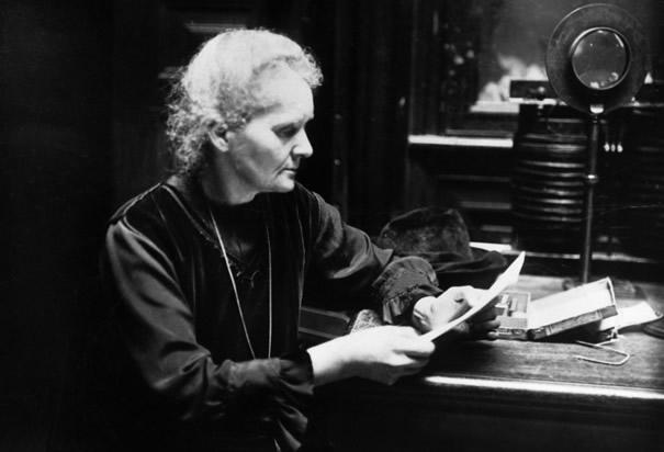 Radioaktívak Marie Curie kéziratai