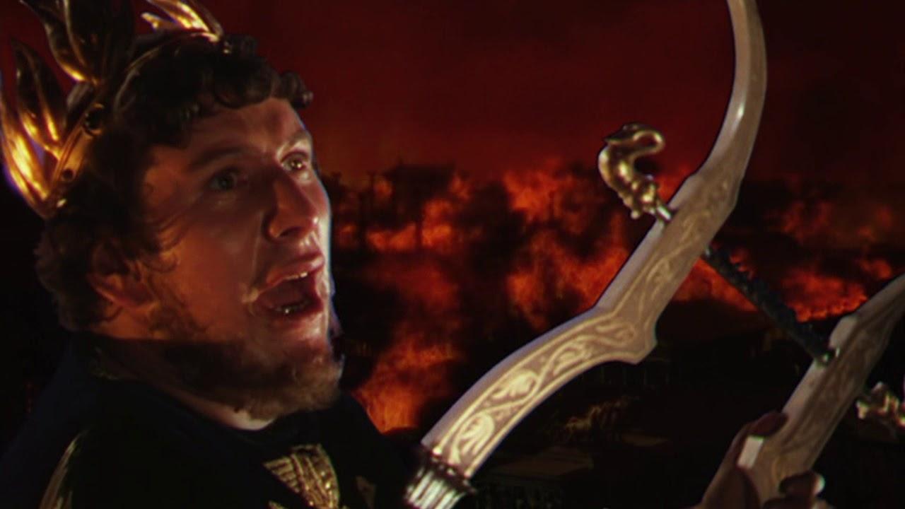 Nero császár és Róma égése